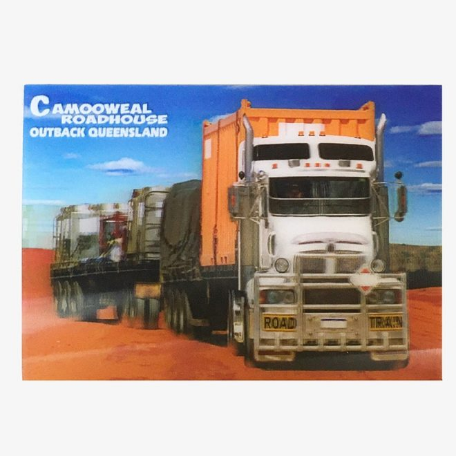 3D Post Card - Truck