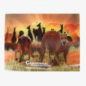 3D Post Card - Bulls