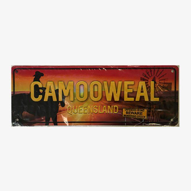 Number Plate- Camooweal