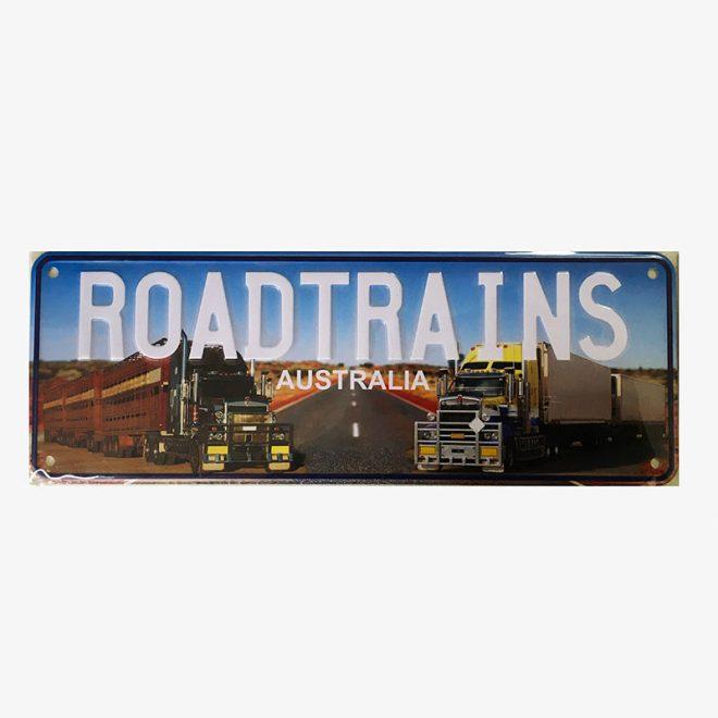 Number plate - Roadtrain