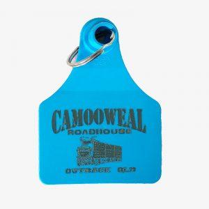 Cattle Ear Tag Key Ring