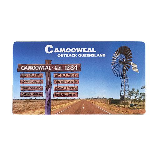 Magnet - Camooweal roadsign