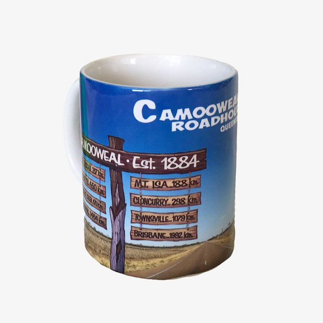 Mug - Camooweal Road Sign