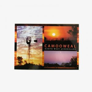 Post Card - Camooweal Sunset