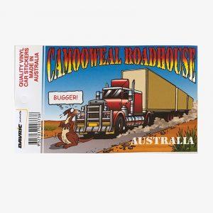 Sticker - Bugger Kangaroo