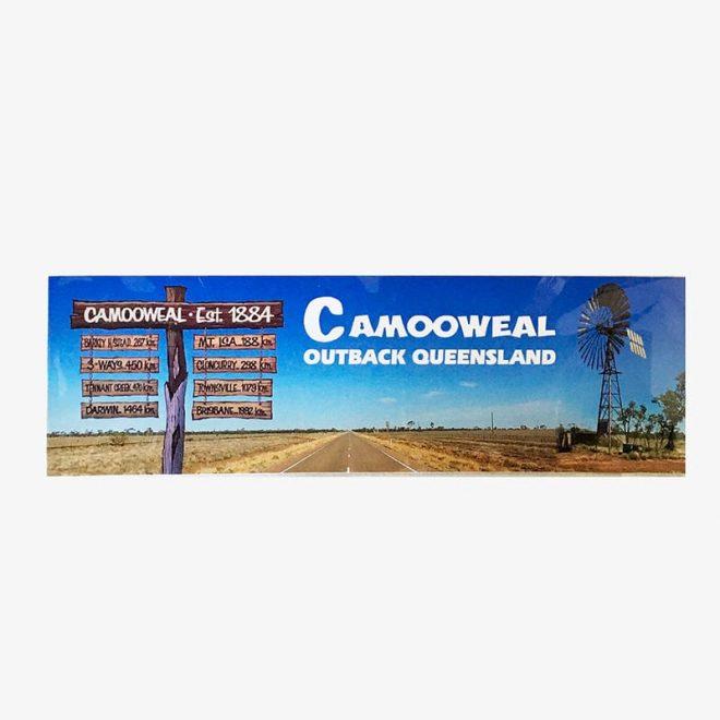 Sticker - Camooweal road sign