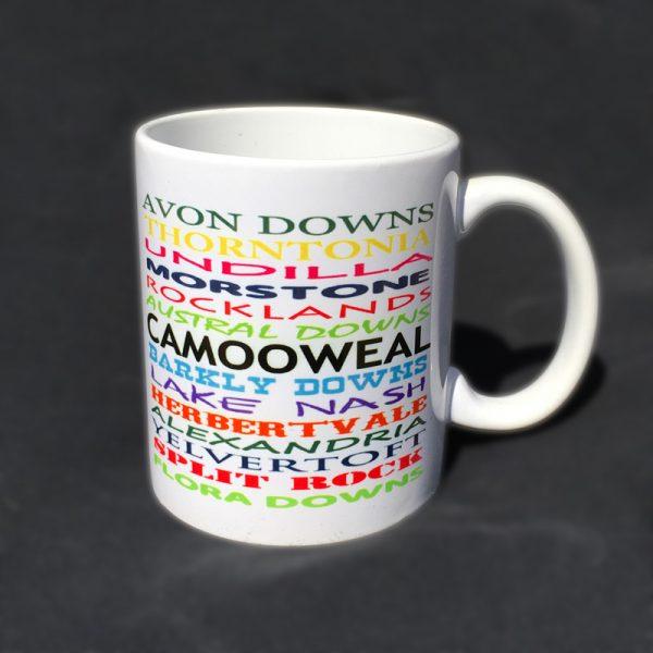 12 oz mug rainbow