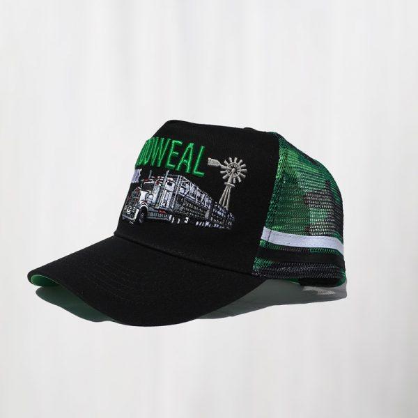 black green side