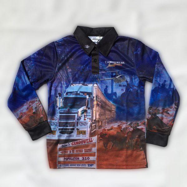 fishing shirt front
