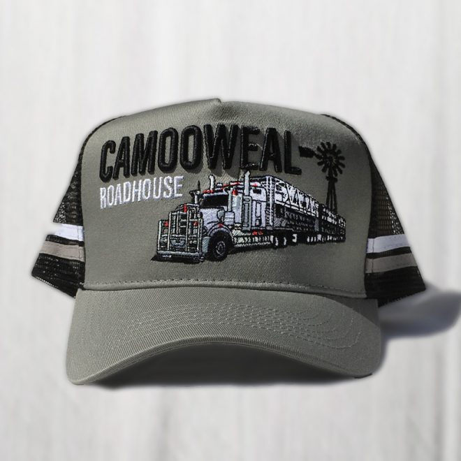 Grey-black cap