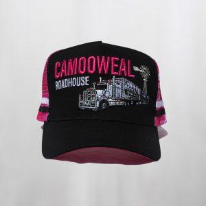 Navy-pink cap